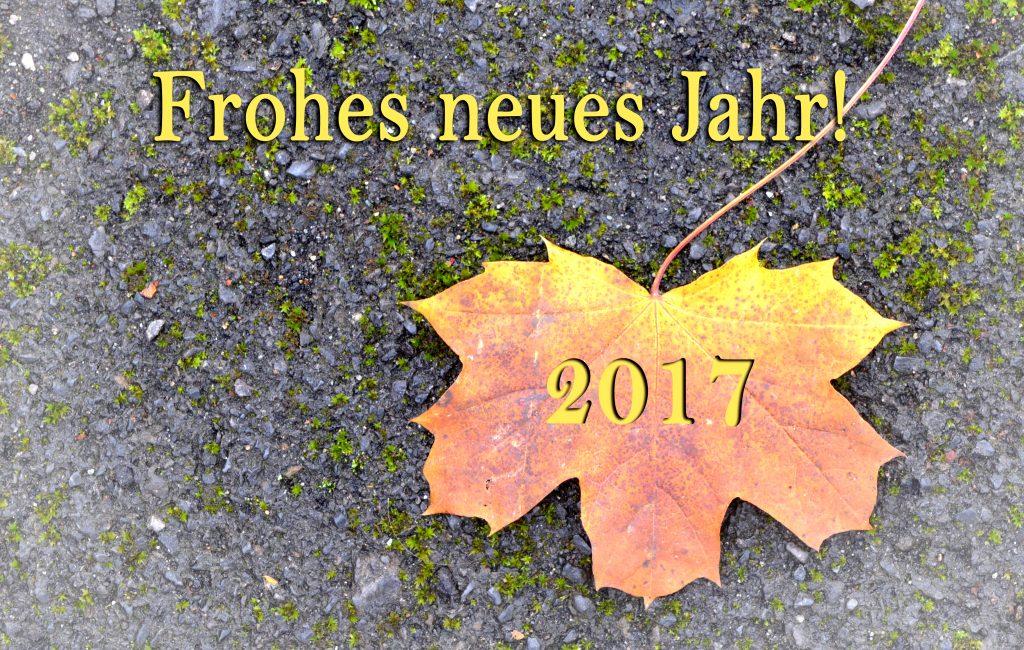 Alles Gute zum neuen Jahr!!!