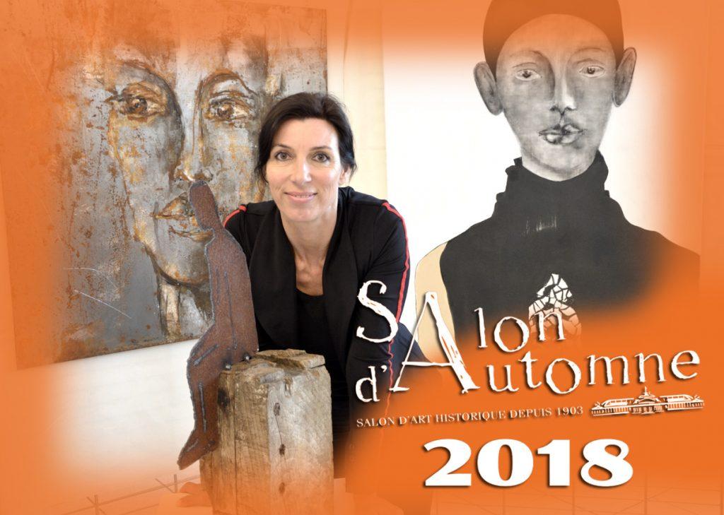 """Claudia Mölle im """"Salon d`Automne 2018"""""""